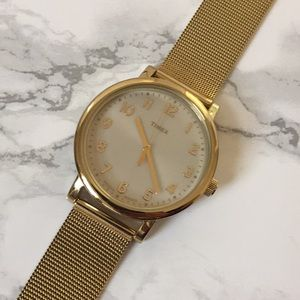 Timed Gold Watch